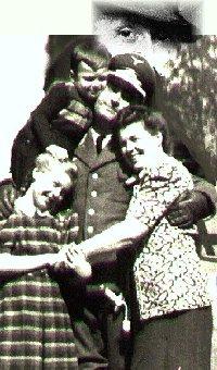 Familie des Franz V. Schulte-Schulenberg im Kriege ca. 1943